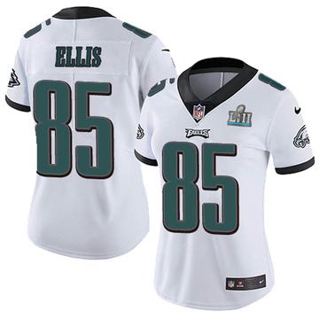 Women's Nike Philadelphia Eagles Alex Ellis White Super Bowl LII Vapor Untouchable Jersey - Limited