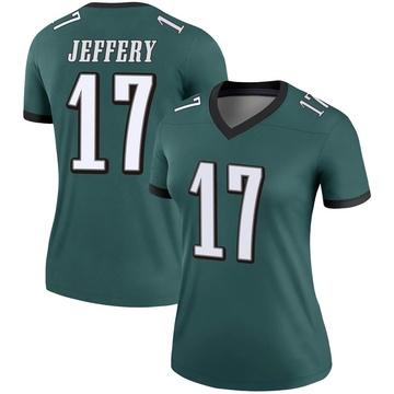 Women's Nike Philadelphia Eagles Alshon Jeffery Green Jersey - Legend
