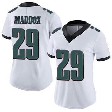 Women's Nike Philadelphia Eagles Avonte Maddox White Vapor Untouchable Jersey - Limited