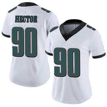 Women's Nike Philadelphia Eagles Bruce Hector White Vapor Untouchable Jersey - Limited