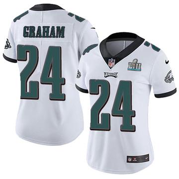 Women's Nike Philadelphia Eagles Corey Graham White Super Bowl LII Vapor Untouchable Jersey - Limited