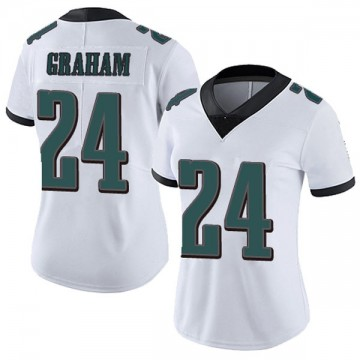 Women's Nike Philadelphia Eagles Corey Graham White Vapor Untouchable Jersey - Limited