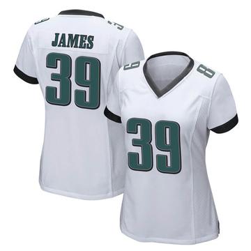Women's Nike Philadelphia Eagles Craig James White Jersey - Game