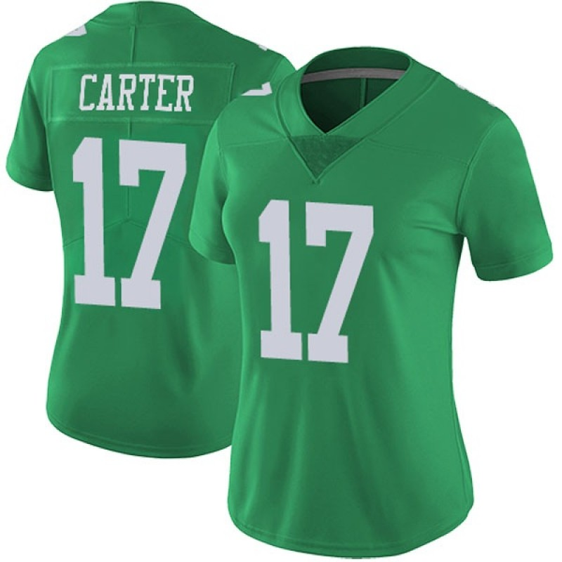 new concept ce65c 75af6 Women's Nike Philadelphia Eagles Cris Carter Green Vapor Untouchable Jersey  - Limited