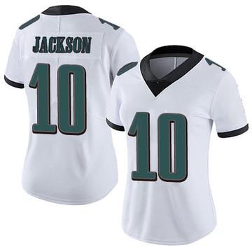 Women's Nike Philadelphia Eagles DeSean Jackson White Vapor Untouchable Jersey - Limited