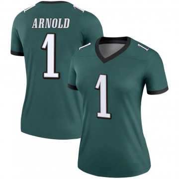 Women's Nike Philadelphia Eagles Grayland Arnold Green Jersey - Legend