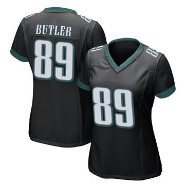 Women's Nike Philadelphia Eagles Hakeem Butler Black Alternate Jersey - Game