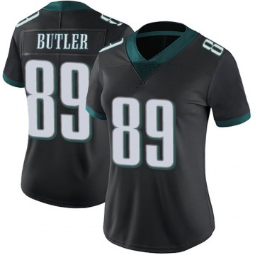 Women's Nike Philadelphia Eagles Hakeem Butler Black Alternate Vapor Untouchable Jersey - Limited