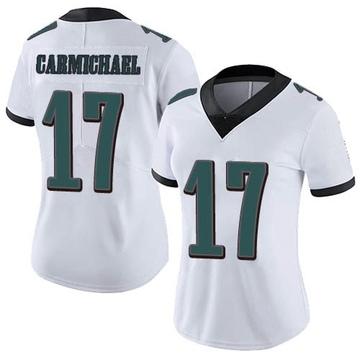 Women's Nike Philadelphia Eagles Harold Carmichael White Vapor Untouchable Jersey - Limited