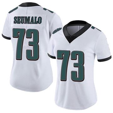 Women's Nike Philadelphia Eagles Isaac Seumalo White Vapor Untouchable Jersey - Limited