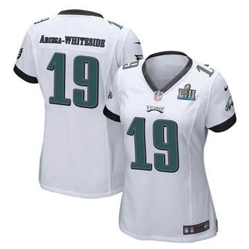 Women's Nike Philadelphia Eagles JJ Arcega-Whiteside White Super Bowl LII Jersey - Game