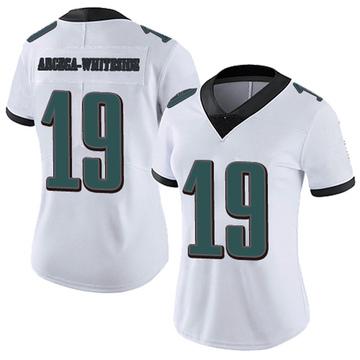 Women's Nike Philadelphia Eagles JJ Arcega-Whiteside White Vapor Untouchable Jersey - Limited