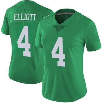 Women's Nike Philadelphia Eagles Jake Elliott Green Vapor Untouchable Jersey - Limited