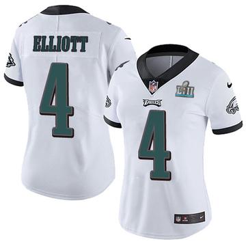 Women's Nike Philadelphia Eagles Jake Elliott White Super Bowl LII Vapor Untouchable Jersey - Limited