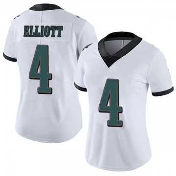 Women's Nike Philadelphia Eagles Jake Elliott White Vapor Untouchable Jersey - Limited