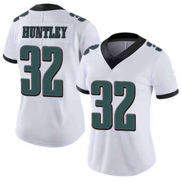 Women's Nike Philadelphia Eagles Jason Huntley White Vapor Untouchable Jersey - Limited