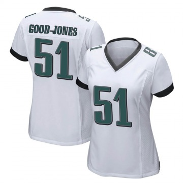Women's Nike Philadelphia Eagles Julian Good-Jones White Jersey - Game