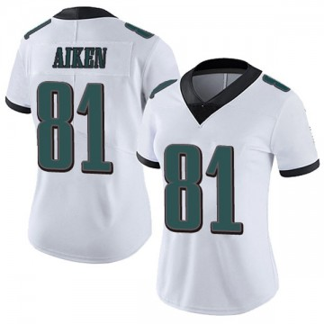 Women's Nike Philadelphia Eagles Kamar Aiken White Vapor Untouchable Jersey - Limited