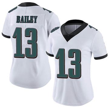 Women's Nike Philadelphia Eagles Manasseh Bailey White Vapor Untouchable Jersey - Limited