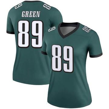 Women's Nike Philadelphia Eagles Marcus Green Green Jersey - Legend