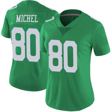 Women's Nike Philadelphia Eagles Marken Michel Green Vapor Untouchable Jersey - Limited