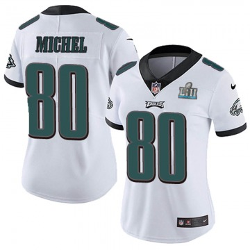 Women's Nike Philadelphia Eagles Marken Michel White Super Bowl LII Vapor Untouchable Jersey - Limited
