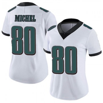Women's Nike Philadelphia Eagles Marken Michel White Vapor Untouchable Jersey - Limited