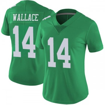 Women's Nike Philadelphia Eagles Mike Wallace Green Vapor Untouchable Jersey - Limited