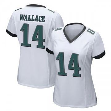 Women's Nike Philadelphia Eagles Mike Wallace White Jersey - Game