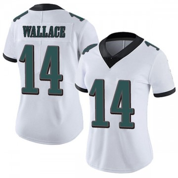 Women's Nike Philadelphia Eagles Mike Wallace White Vapor Untouchable Jersey - Limited