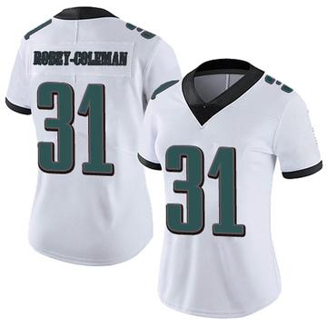 Women's Nike Philadelphia Eagles Nickell Robey-Coleman White Vapor Untouchable Jersey - Limited