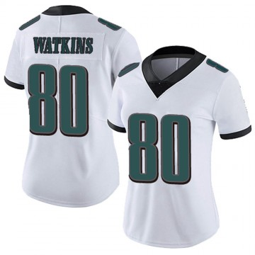 Women's Nike Philadelphia Eagles Quez Watkins White Vapor Untouchable Jersey - Limited
