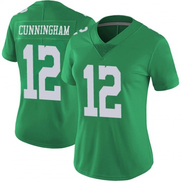 Women's Nike Philadelphia Eagles Randall Cunningham Green Vapor Untouchable Jersey - Limited