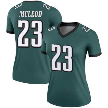 Women's Nike Philadelphia Eagles Rodney McLeod Green Jersey - Legend