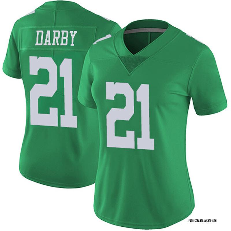 watch 14d89 c23c6 Women's Nike Philadelphia Eagles Ronald Darby Green Vapor Untouchable  Jersey - Limited