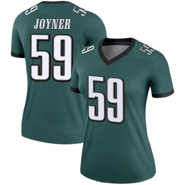 Women's Nike Philadelphia Eagles Seth Joyner Green Jersey - Legend