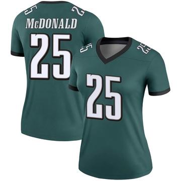 Women's Nike Philadelphia Eagles Tommy McDonald Green Jersey - Legend