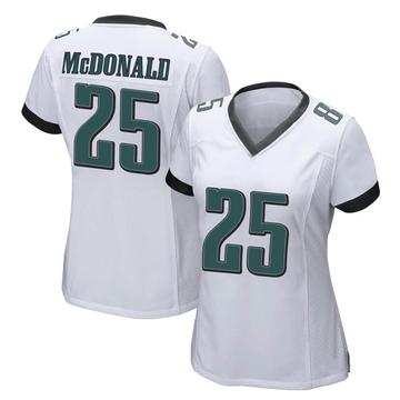 Women's Nike Philadelphia Eagles Tommy McDonald White Jersey - Game