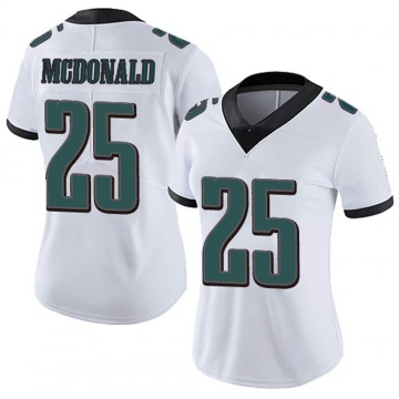 Women's Nike Philadelphia Eagles Tommy McDonald White Vapor Untouchable Jersey - Limited