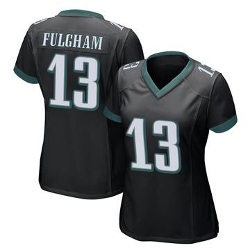Women's Nike Philadelphia Eagles Travis Fulgham Black Alternate Jersey - Game