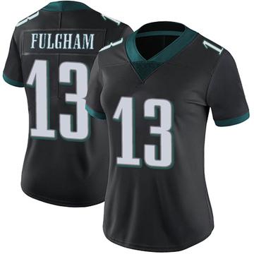 Women's Nike Philadelphia Eagles Travis Fulgham Black Alternate Vapor Untouchable Jersey - Limited