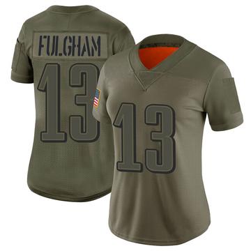 Women's Nike Philadelphia Eagles Travis Fulgham Camo 2019 Salute to Service Jersey - Limited