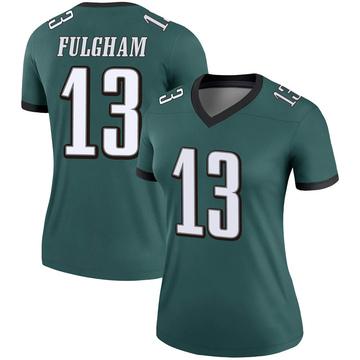 Women's Nike Philadelphia Eagles Travis Fulgham Green Jersey - Legend