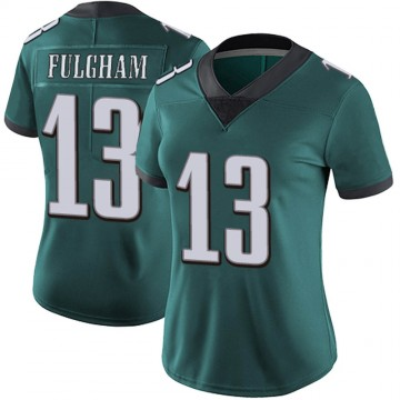 Women's Nike Philadelphia Eagles Travis Fulgham Green Midnight Team Color Vapor Untouchable Jersey - Limited
