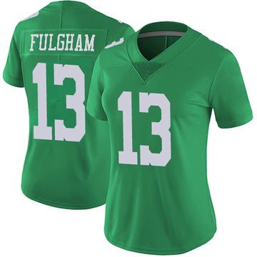 Women's Nike Philadelphia Eagles Travis Fulgham Green Vapor Untouchable Jersey - Limited