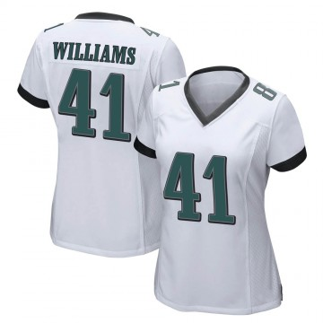 Women's Nike Philadelphia Eagles Trevor Williams White Jersey - Game