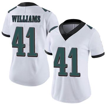 Women's Nike Philadelphia Eagles Trevor Williams White Vapor Untouchable Jersey - Limited