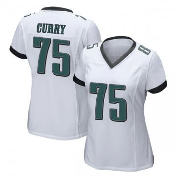 Women's Nike Philadelphia Eagles Vinny Curry White Jersey - Game