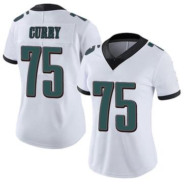 Women's Nike Philadelphia Eagles Vinny Curry White Vapor Untouchable Jersey - Limited