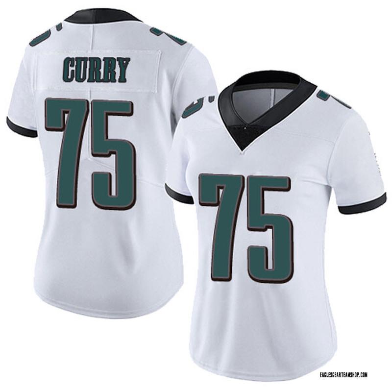 sale retailer c5f3e 0db63 Women's Nike Philadelphia Eagles Vinny Curry White Vapor Untouchable Jersey  - Limited